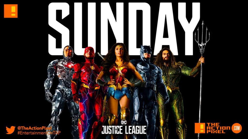 sunday, trailer , trailer 2, unite the league,JL, justice league, dc comics ,batman, superman, wonder woman, princess diana, diana prince, bruce wayne, ben affleck, batfleck, batffleck, gal gadot, cyborg, ray fisher, aquaman, jason momoa, arthur , flash,ezra miller, justice league movie, zack snyder, poster, wb pictures, warner bros. pictures, warner bros, the action pixel, entertainment on tap,teaser, poster,