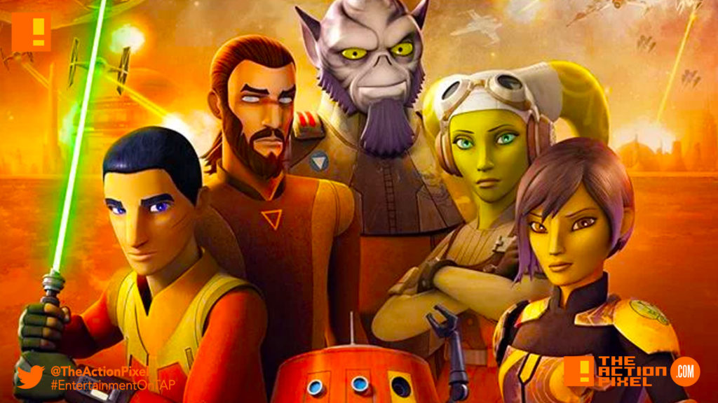 poster, sw rebels, star wars rebels , Season 4, the action pixel, disney, lucasfilm, disney xd, the action pixel, entertainment on tap,