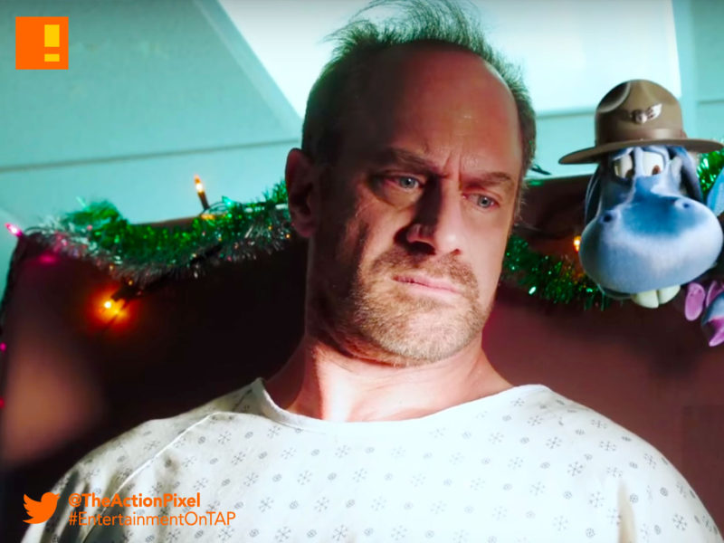 syfy, happy, happy!, Christopher Meloni, Lili Mirojnick ,Bryce Lorenzo, trailer, horse, christmas, ex-cop,hitman
