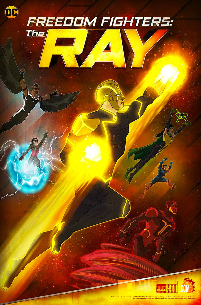 ray, the ray, cw, cw seed, dc comics, the action pixel, entertainment on tap, dc comics,cw , the cw network, the action pixel, entertainment on tap, @theactionpixel, poster, the cw,