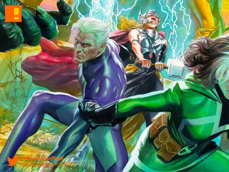 avengers, avengers: no surrender, the action pixel, marvel, marvel comics, entertainment on tap, rogue, quicksilver, thor, captain america,