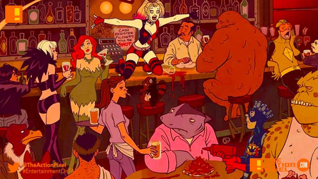 harley quinn, dc comics,  Amanda Conner, series, animation series, dc digital, the action pixel,entertainment on tap