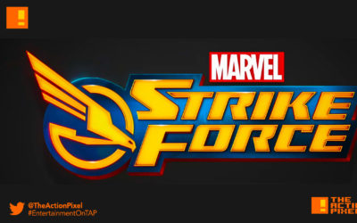 marvel's strike force, marvel, the action pixel, entertainment on tap, marvel game, foxnext games, entertainment on tap, the action pixel,