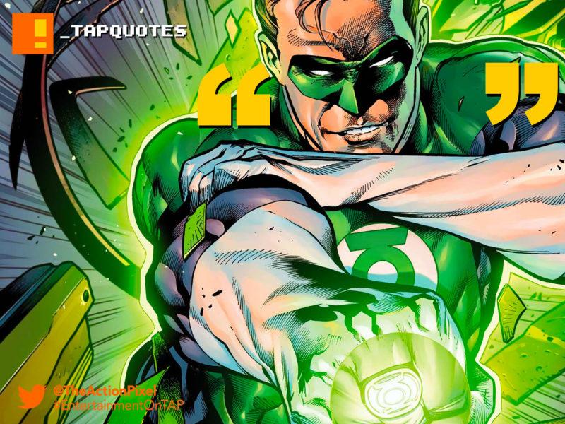 Green lantern oath tattoo