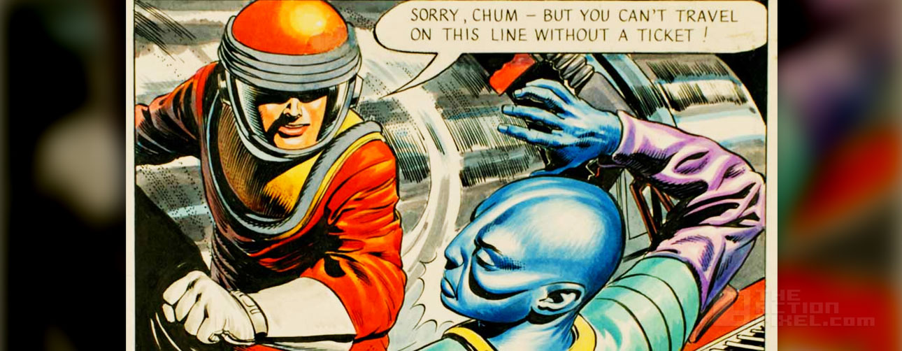 DAN DARE THE ACTION PIXEL @theactionpixel