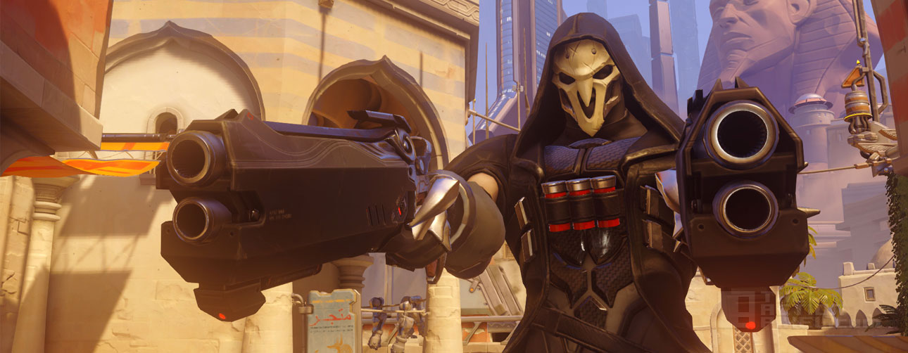 Reaper in Overwatch © Blizzard Ent. THE ACTION PIXEL @theactionpixel