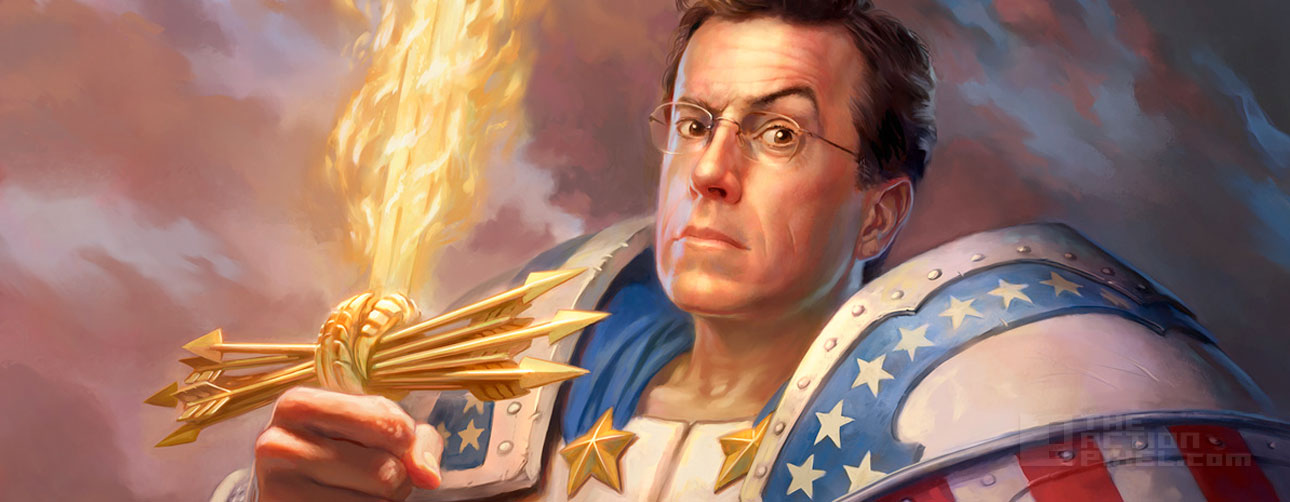 stephen colbert. THE ACTION PIXEL @theactionpixel