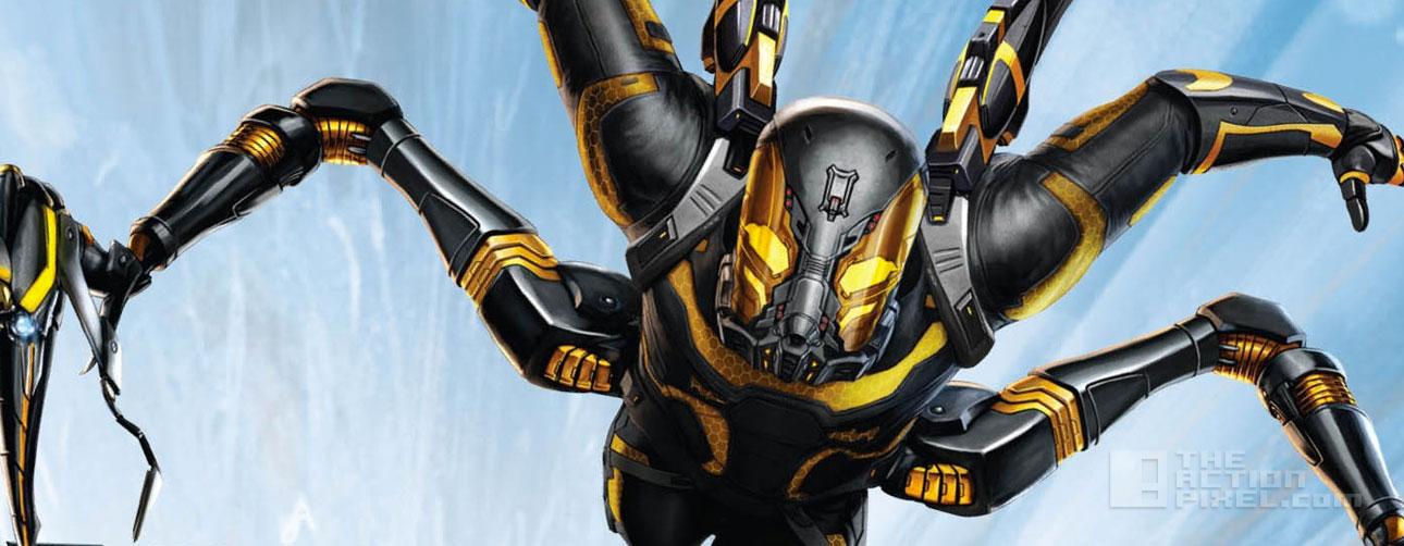 antman yellowjacket. Marvel. The action pixel. @theactionpixel