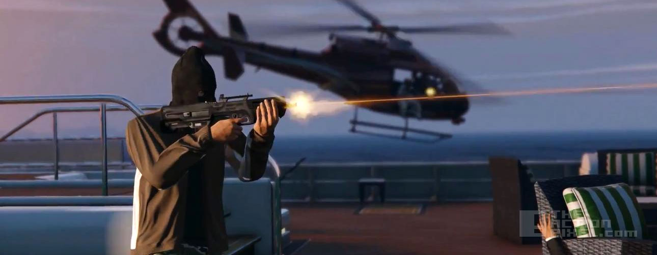 gta v Online Heist. The Action Pixel. @TheActionPixel