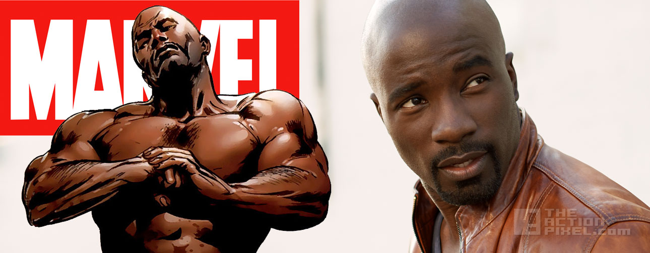 mike Colter to play Luke Cage. Marvel. The Action Pixel. @theactionpixel