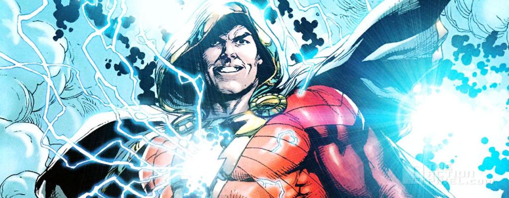 shazam. Captain Marvel. DC comics. The Action pixel. @TheActionPixel