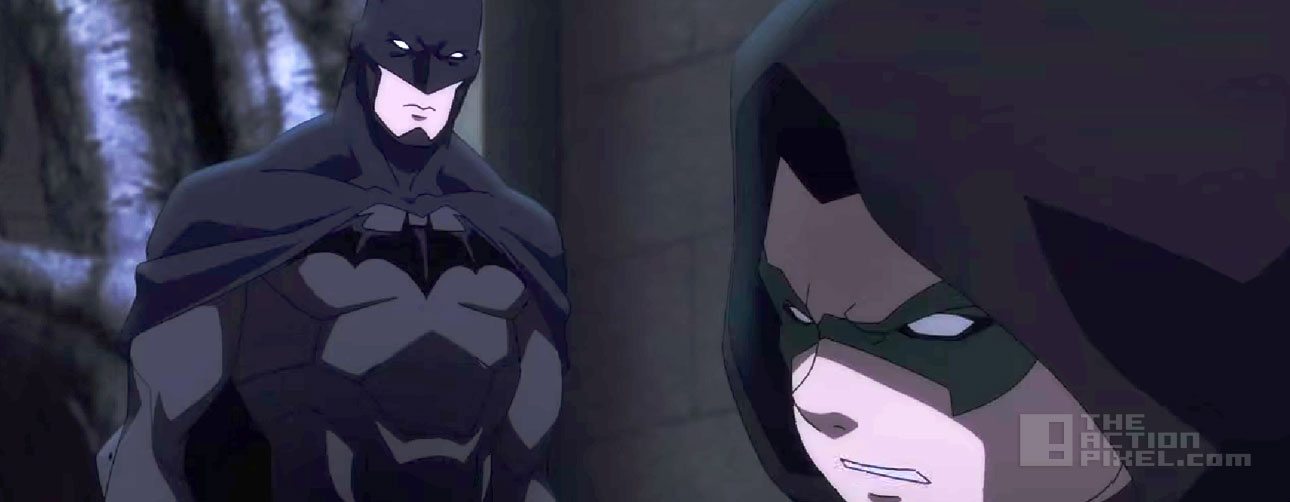 batman Vs Robin. Dc comics animation. The action pixel. @theactionpixel