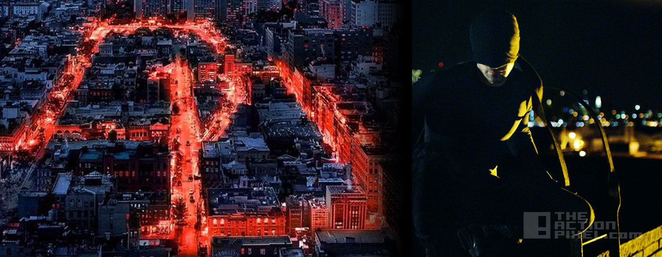 Daredevil Poster. Netflix, Marvel. The Action Pixel. @theactionpixel