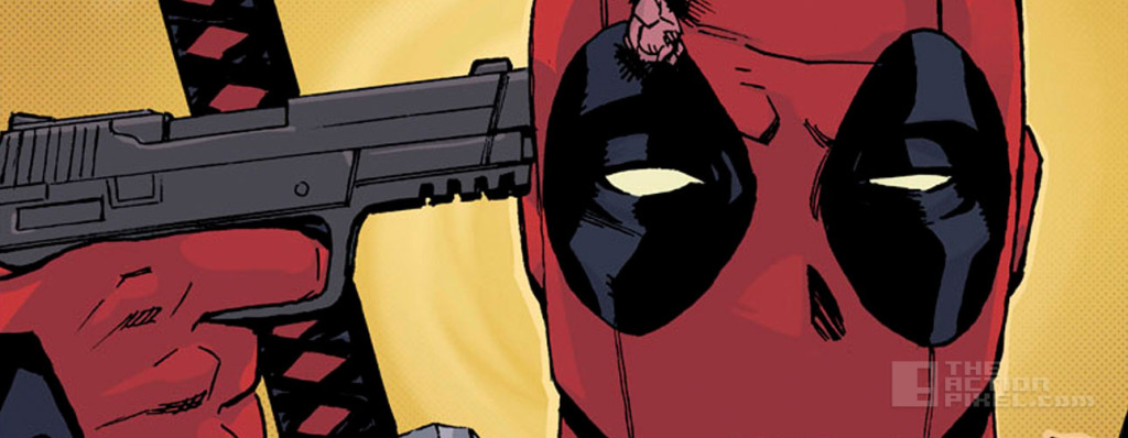 deadpool Gun. Marvel. the action pixel. @theactionpixel