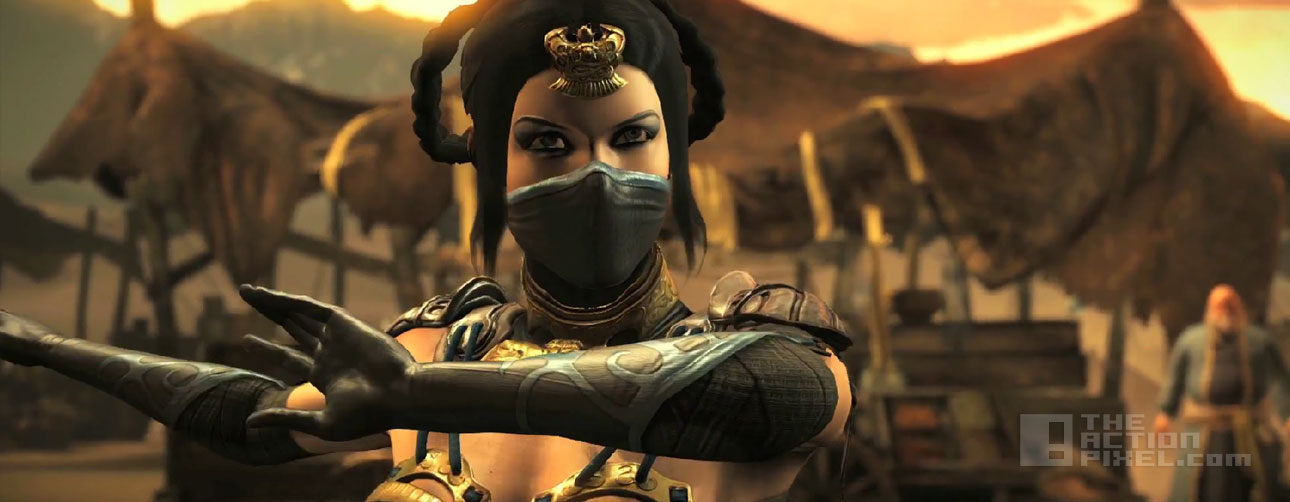 Kitana in Mortal Kombat X. netherrealm studios. The Action pixel. @theactionpixel