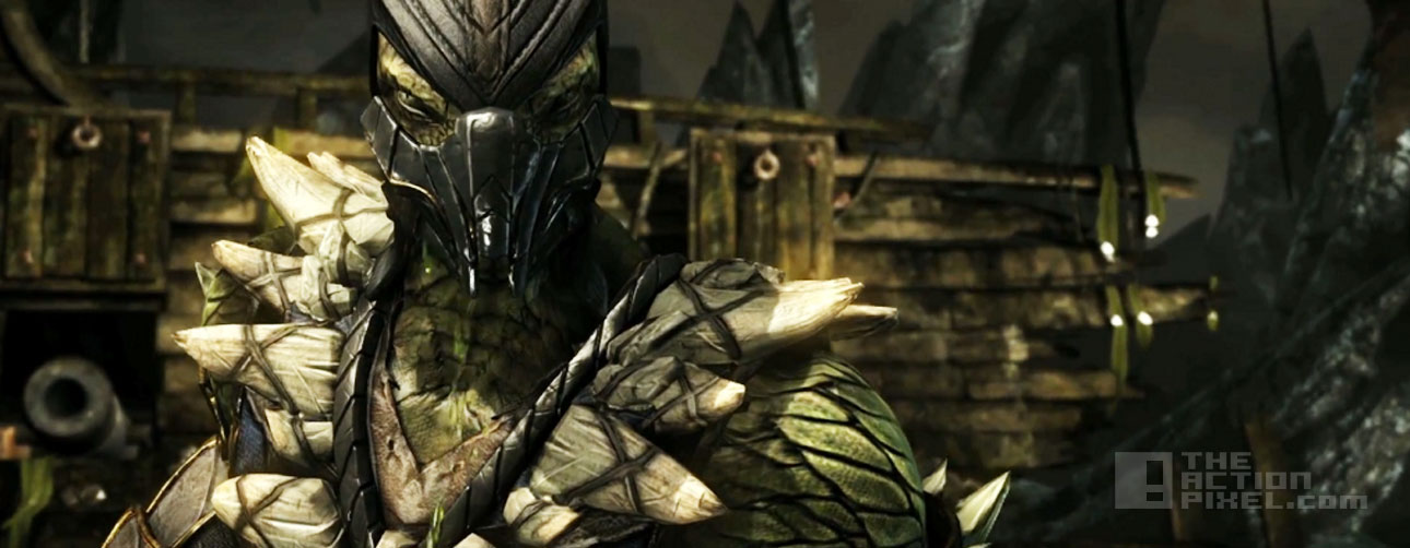 reptile in mortal kombat x. Entertainment On TAP. The Action pixel. @theactionpixel