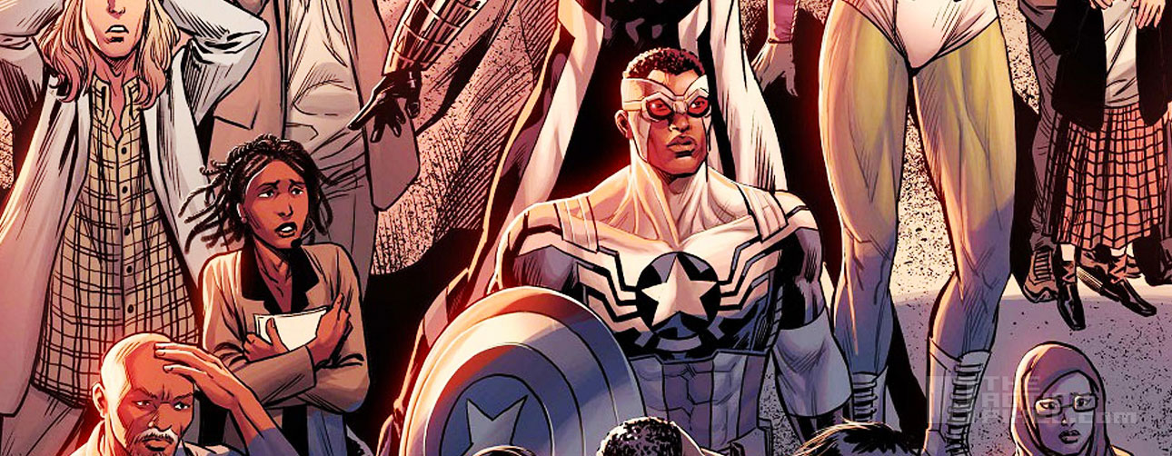 last days of captain America and the Mighty Avengers cover. Secret wars. Marvel. The action pixel. @theactionpixel