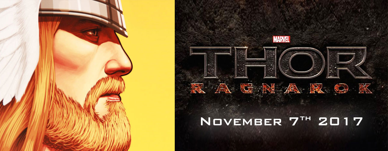 changed from July 28, 2017 to November 3, 2017 thor ragnarok. marvel. @theactionpix