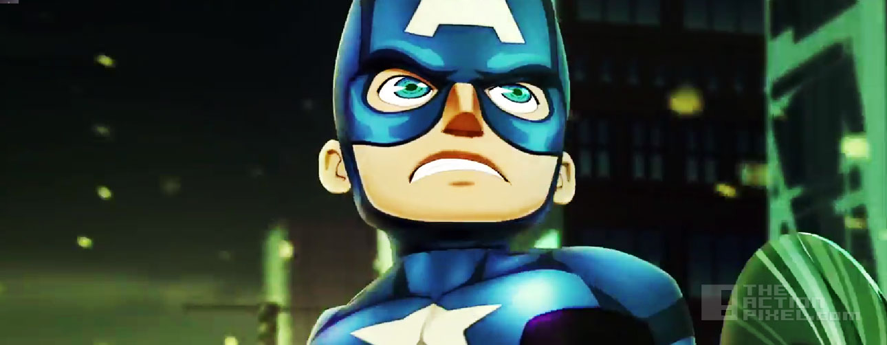 marvel mighty heroes. the action pixel. @theactionpixel captain america