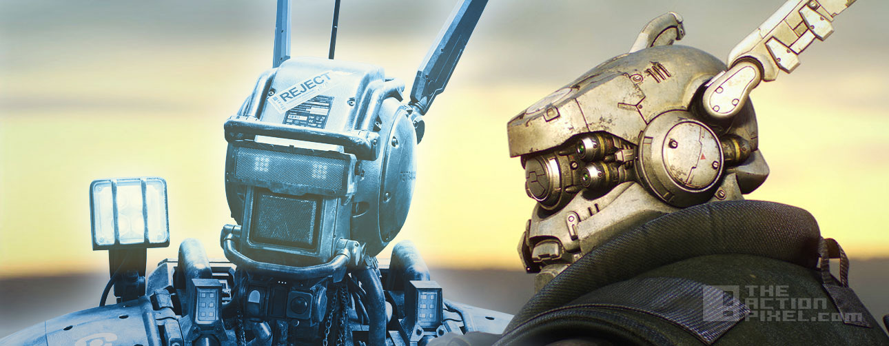 chappie briareos comparison. the action pixel @theactionpixel