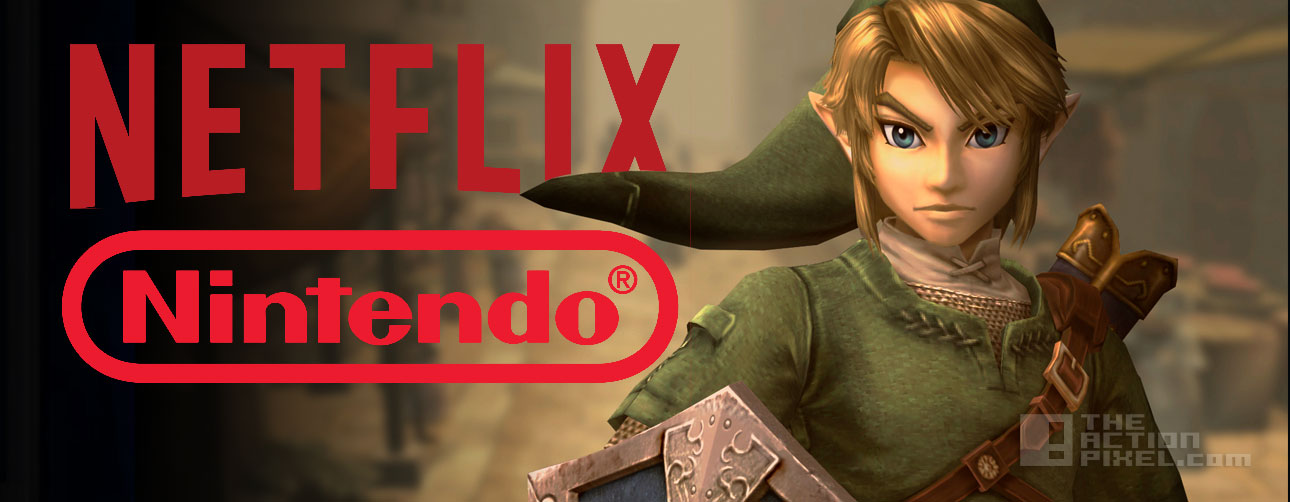 legend of zelda Netflix. Nintendo. The Action Pixel. @theactionpixel