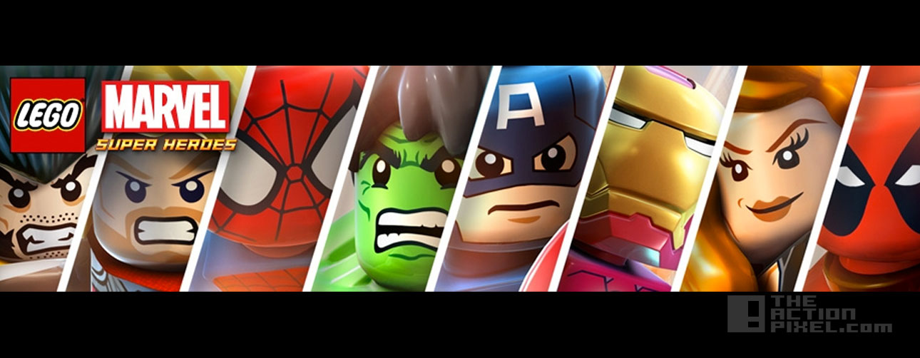 lego marvel Avengers Banner. The action pixel. @theactionpixel
