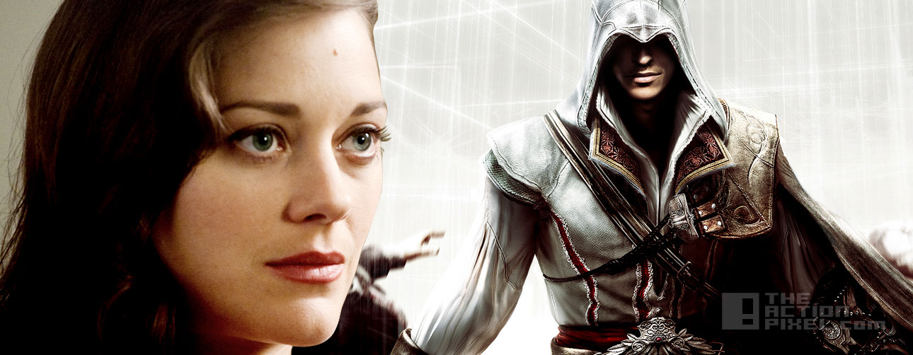 marion cotillard joins Assassins Creed film. #EntertainmentOnTAP The action pixel. @theactionpixel