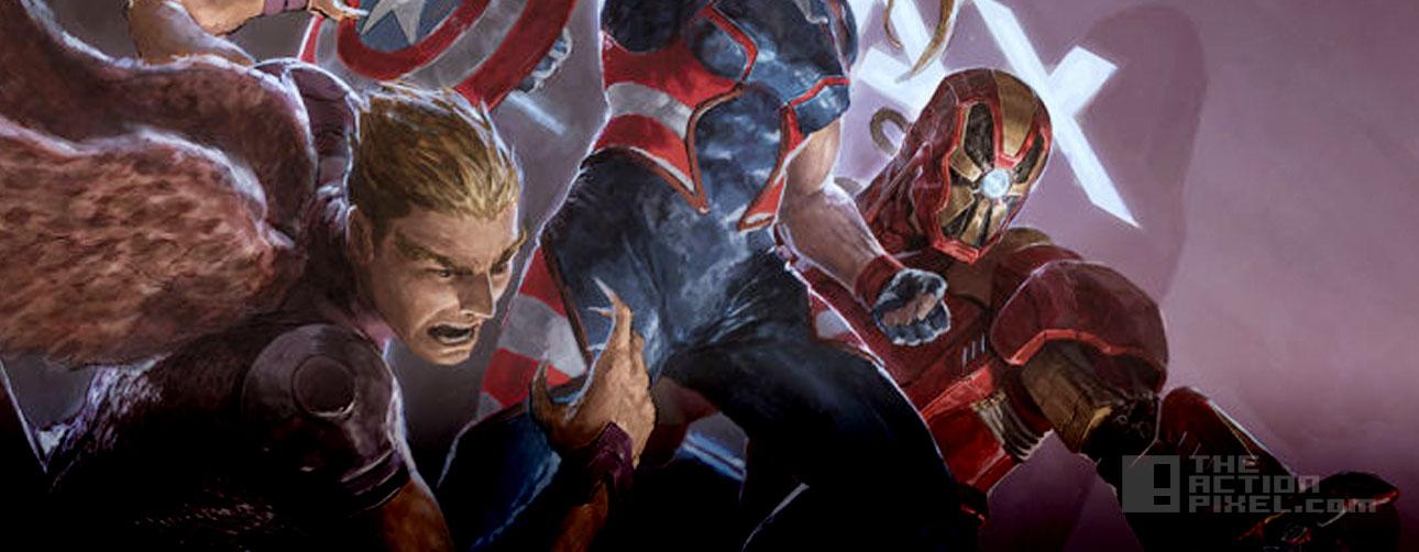 secret wars 2099. Marvel. The action pixel. @theactionpixel