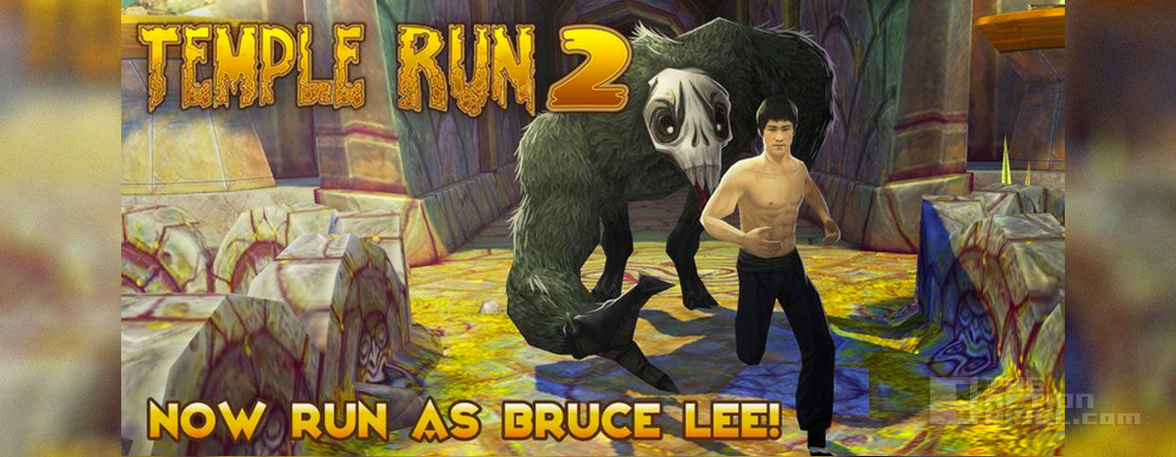 temple run 2 Bruce lee skin. Imangi studios, the action pixel. @theactionpixel