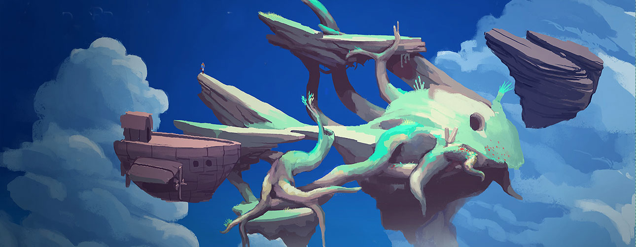 worlds Adrift. The action pixel. @theactionpixel bossa studios improbable