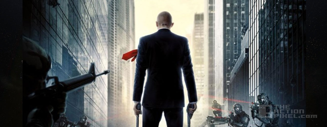hitman agent 47 poster banner. the action pixel. @theactionpixel