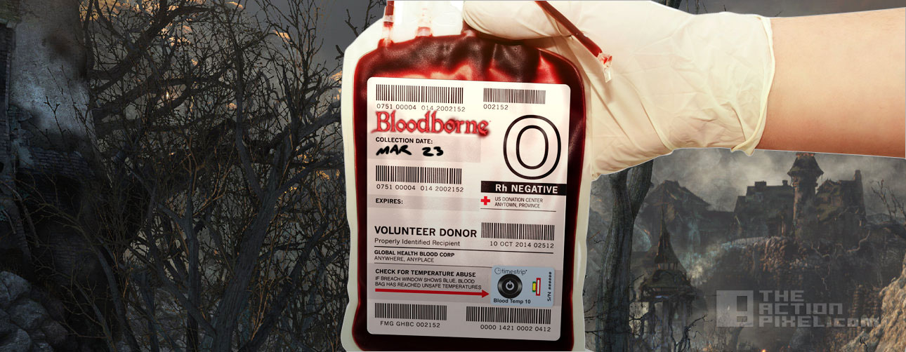 bloodborne Blood donor Done. the action pixel @theactionpixel