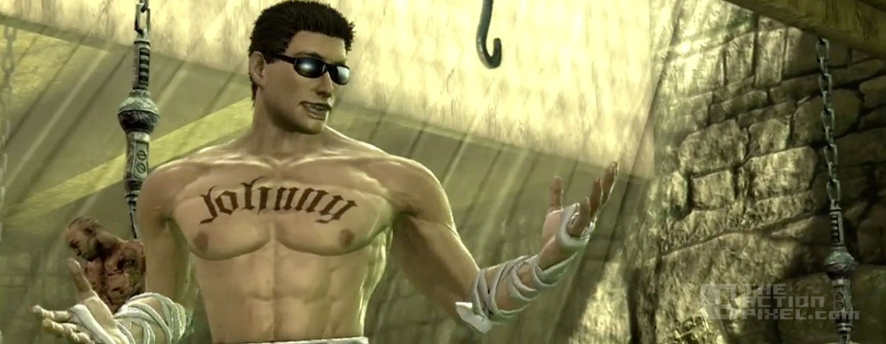 johnny cage. mortail kombat x. @theactionpixel. the action pixel