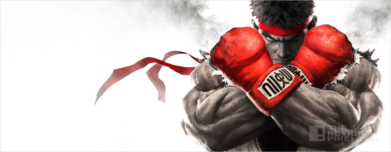 ryu Street Fighter V. the action pixel. @theactionpixel