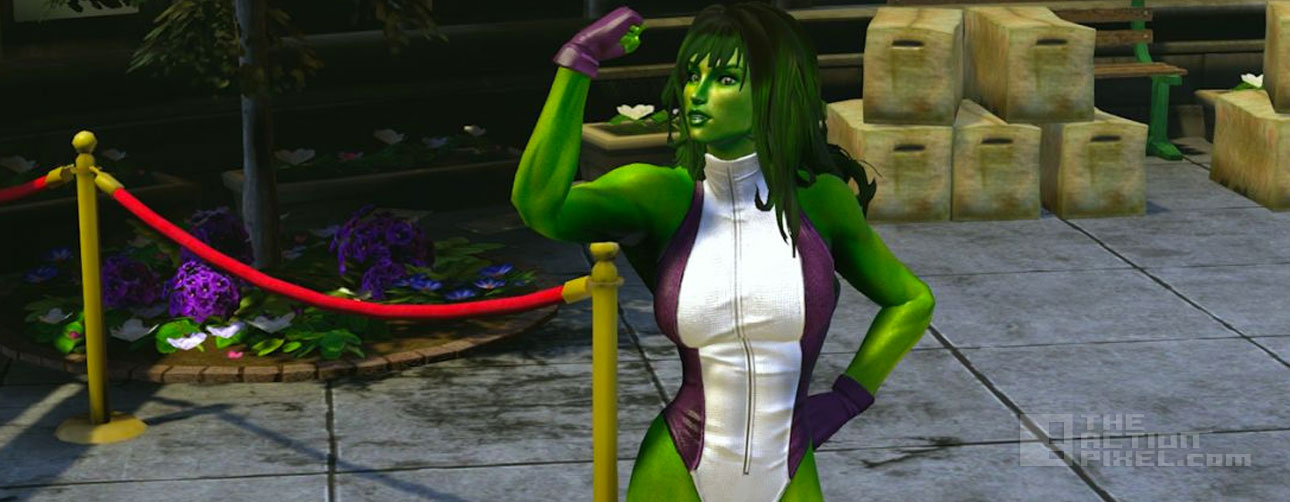 she hulk marvel heroes. the action pixel. @theactionpixel