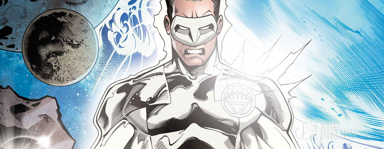 white lantern kyle rayner. dc comics, the action pixel @theactionpixel