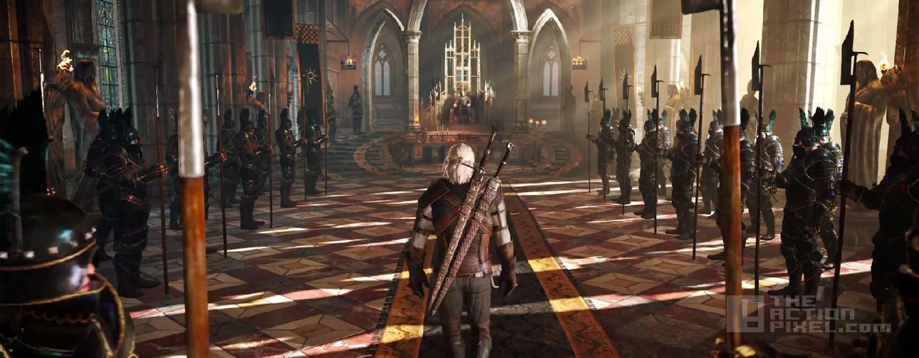 geralt aisle. the witcher 3: wild hunt. the action pixel. @theactionpixel