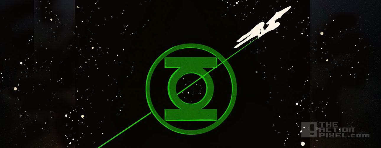 Star Trek / Green Lantern: The Spectrum War. Dc Comics IDW publishing. the action pixel. @theactionpixel