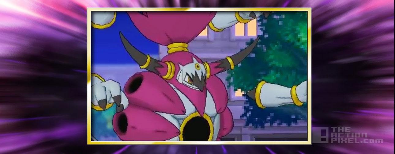 hoopa unbound. nintendo. Pokémon. the action pixel @theactionpixel