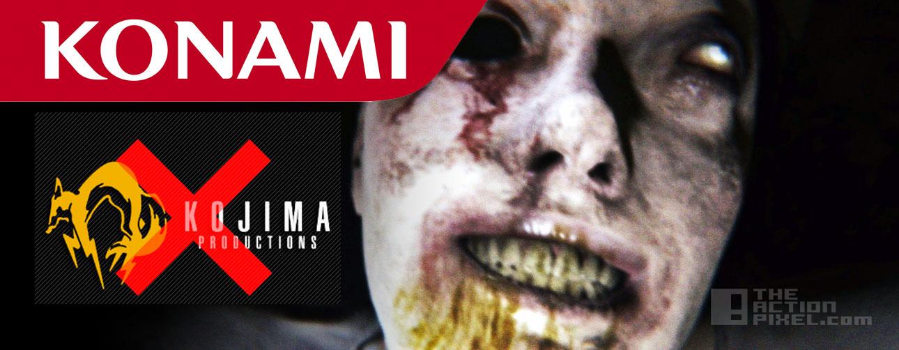 kojima productions konami Silent Hills. the action pixel. @theactionpixel