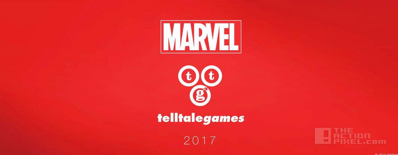 marvel . telltale games. the action pixel. @theactionpixel