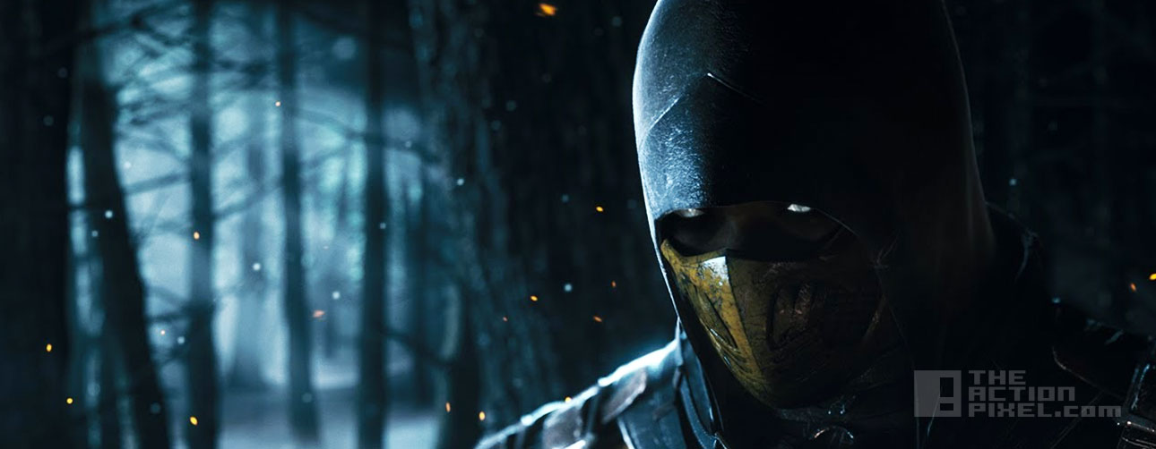 scorpion mortal kombat x. the action pixel. @theactionpixel