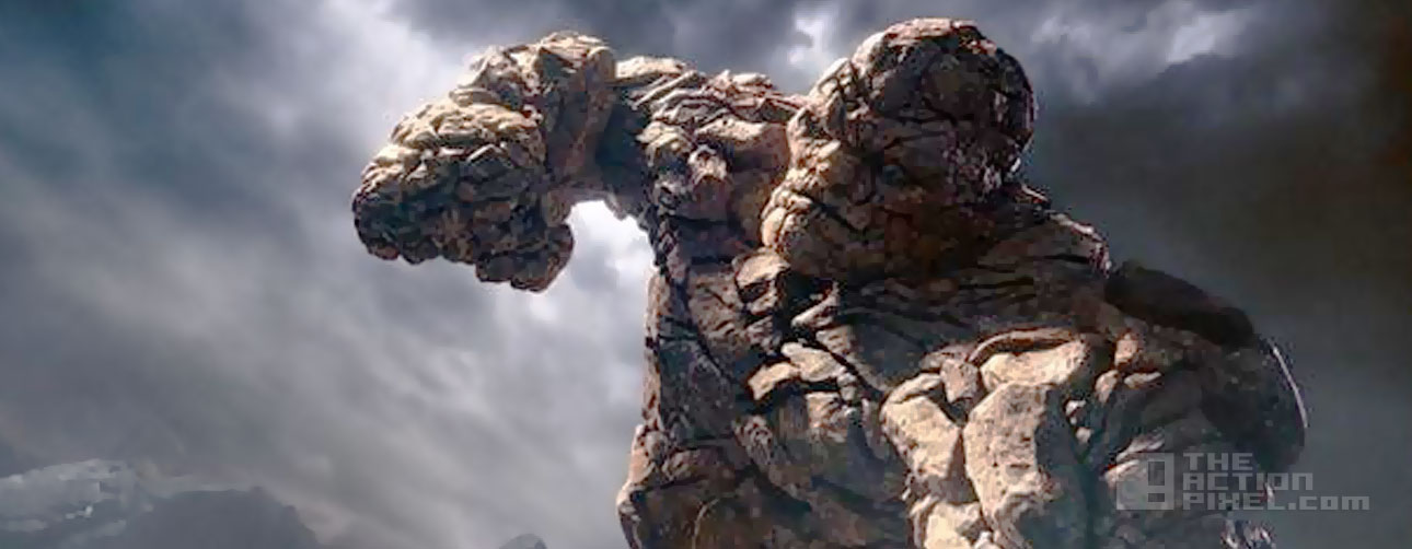 the thing. fantastic four still. the action pixel. @theactionpixel