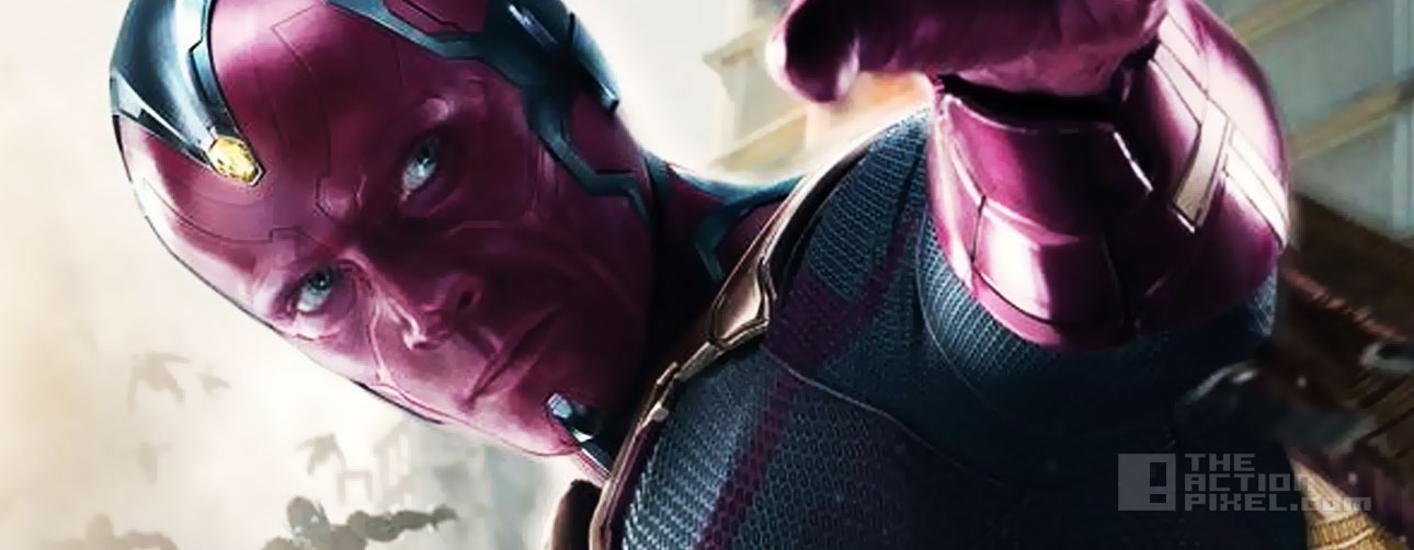 avengers age of ultron. Vision poster. @theactionpixel . the action pixel. marvel