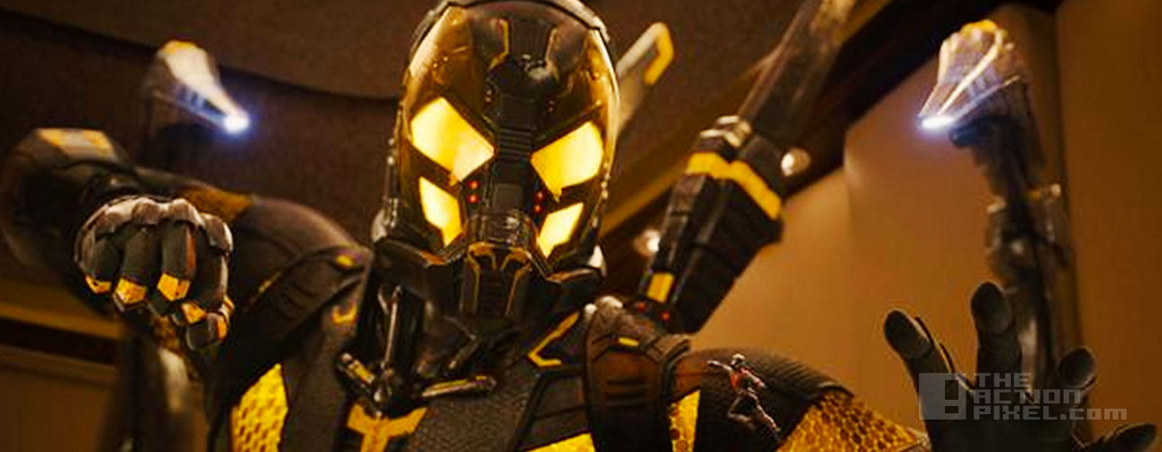 yellowjacket. antman. marvel. the action pixel. @theactionpixel