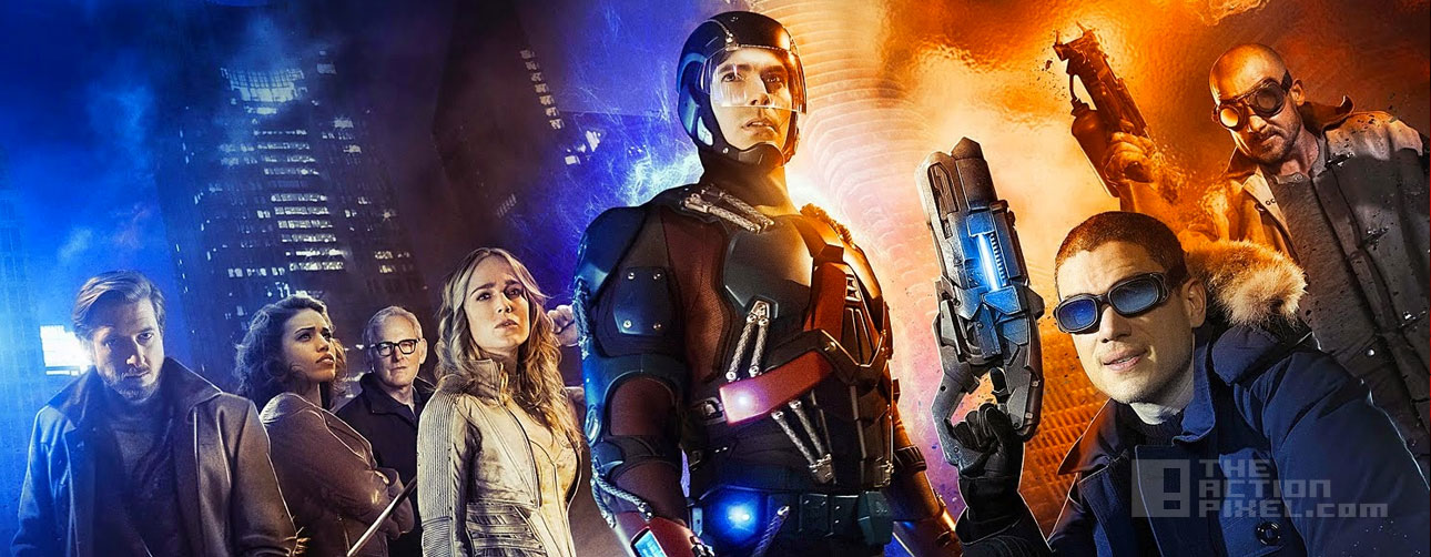dc's Legends Of Tomorrow. the cw. dc comics, the action pixel. @theactionpixel