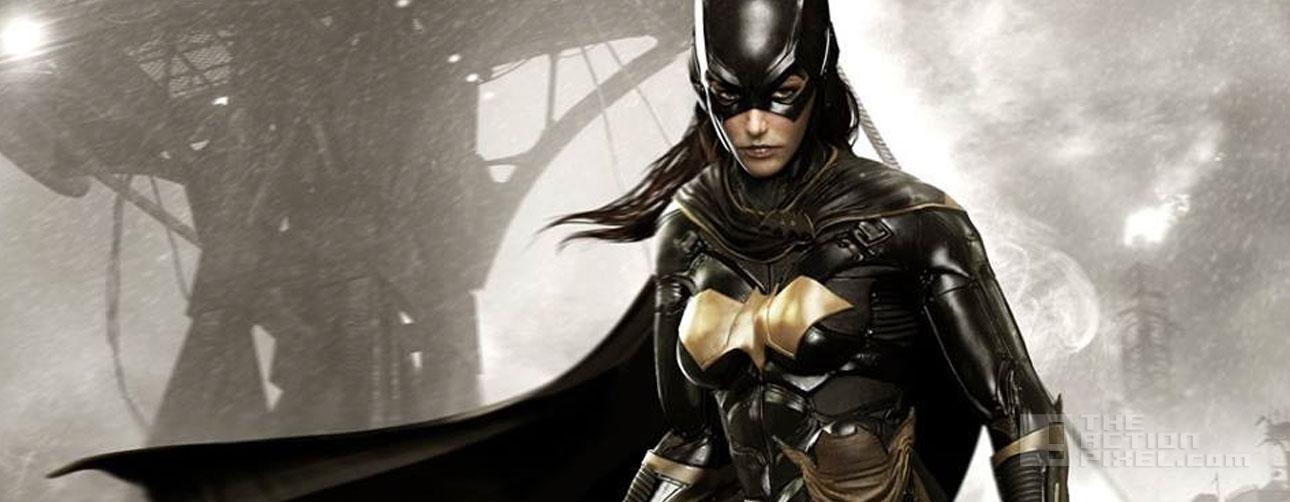 batgirl. batman. arkham knight. rocksteady. the action pixel. @theactionpixel