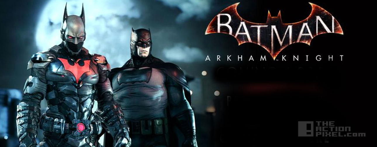batman: Arkham Knight. The Action Pixel. @theactionpixel gothams future skin pack. rocksteady, wb games. dc comics