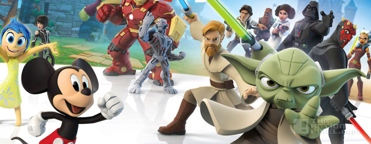 disney Infinity 3. disney. marvel. star wars. the action pixel. @theactionpixel