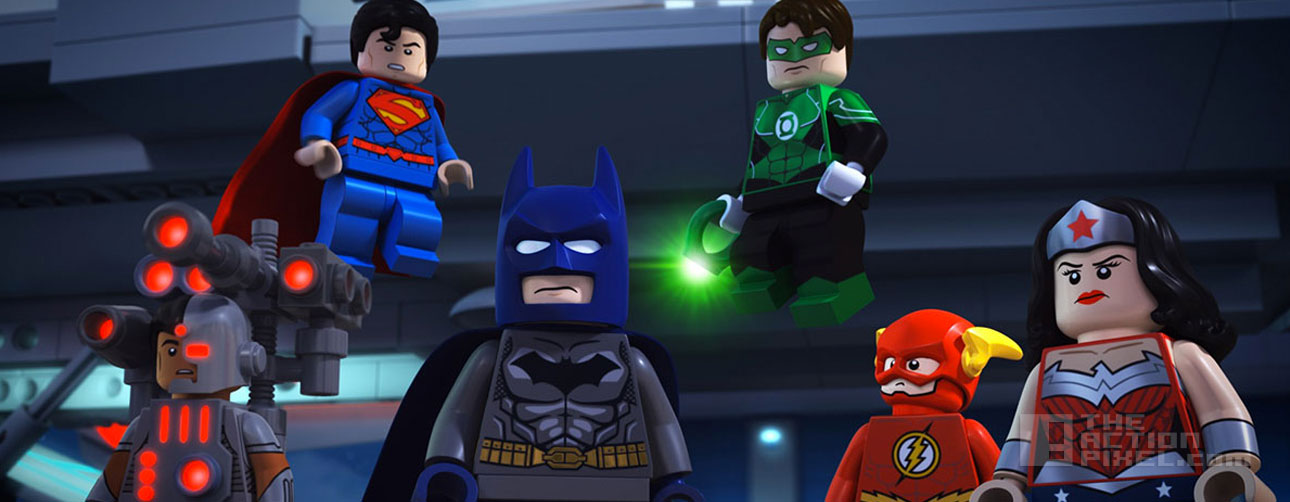 lego dc comics super heroes: justice league- attack of the legion of doom. wb animation. dc comics. lego. the action pixel. @theactionpixel